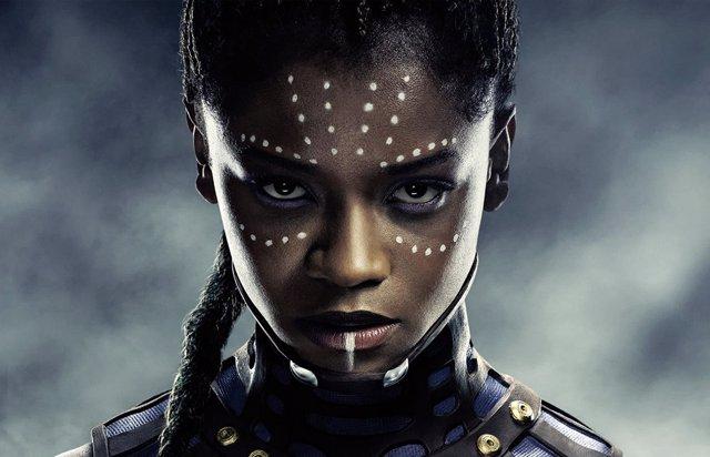 Leitia Wright es Shuri en Black Panther
