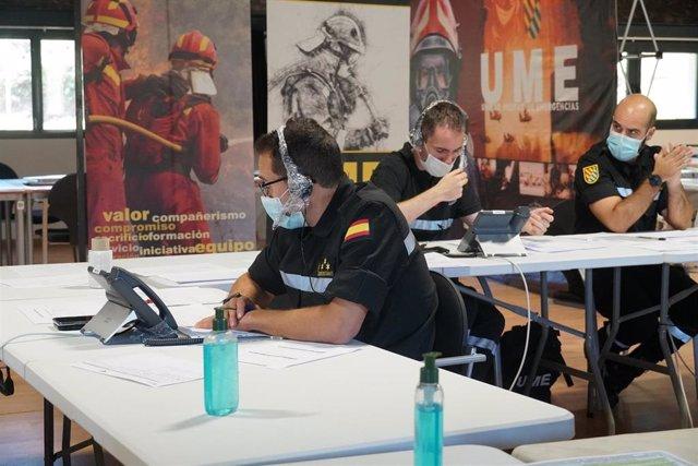 El Batallón de Intervención en Emergencias V (BIEM V) de la Unidad Militar de Emergencias (UME) continúa con las tareas de vigilancia epidemiológica COVID-19.
