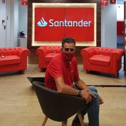 El pentacampeón del Tour de Francia Miguel Indurain en el Santander Talks en Segovia por el Tour de Francia de 2020