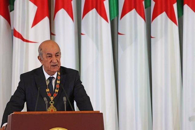 Argelia.- El Parlamento de Argelia aprueba el borrador de la nueva Constitución