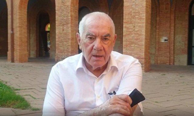El president d'ERC a l'Ajuntament de Barcelona, Ernest Maragall, en declaracions difoses pel partit.