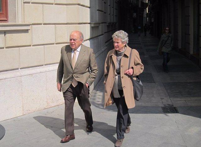 El Expte.De La Generalitat Jordi Pujol Y Su Esposa, Marta Ferrusola