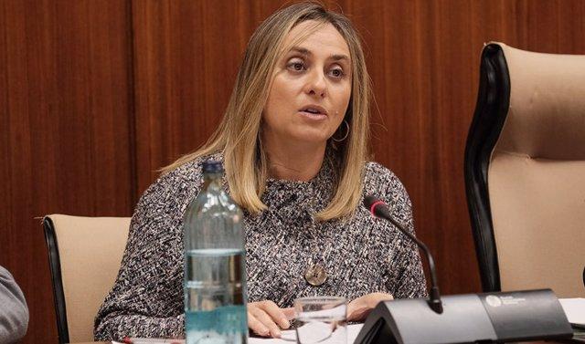 La consejera de Fomento de la Junta de Andalucía, Marifrán Carazo, en una foto de archivo.