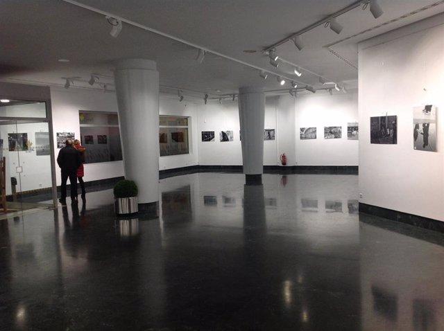 Sala de exposición del centro cultural José Luis García Palacios