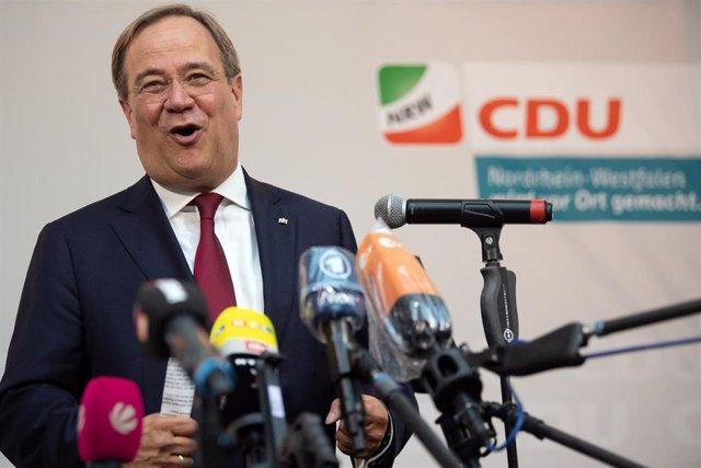 El dirigente de la Unión Cristiano Demócrata (CDU) en Renania del Norte-Westfalia, Armin Laschet