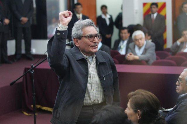 El líder de Sendero Luminoso, Abimael Guzmán.