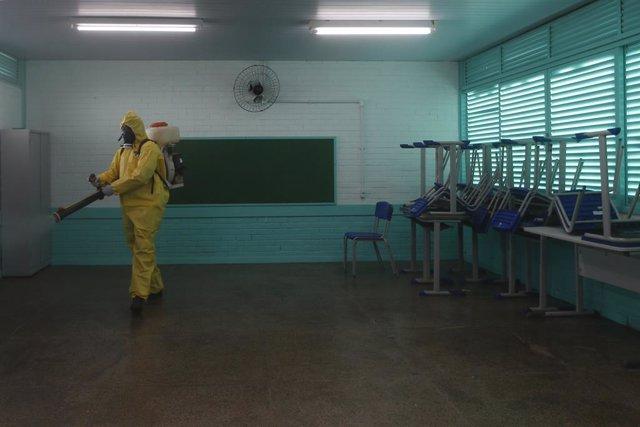 Coronavirus.- Las escuelas privadas de Río de Janeiro podrán reabrir sus aulas a