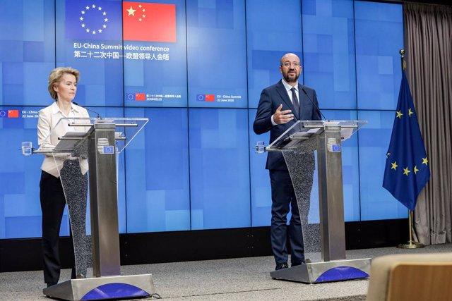 China.- La UE y China abordan este lunes cómo avanzar para cerrar un acuerdo de