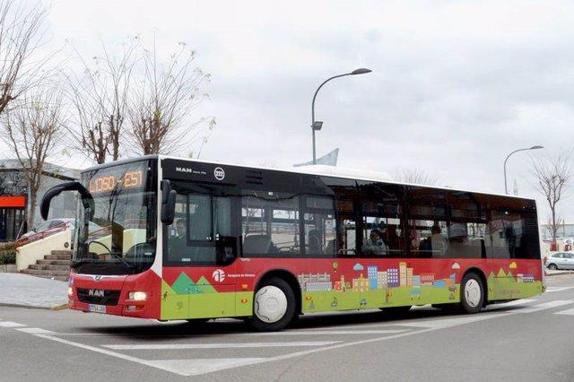 Autobús municipal de Azuqueca.