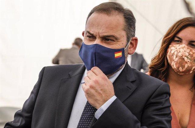 El ministro de Transportes y secretario de Organización del PSOE, José Luis Ábalos, durante el acto de presentación del 'Plan 20.000 de Vivienda' en Valencia, Comunidad Valenciana, (España), a 10 de septiembre de 2020.
