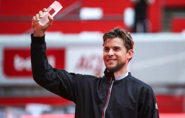 """Tenis/US Open.- Thiem: """"Dediqué toda mi vida a ganar un 'Grand Slam', es un aliv"""