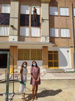 Visita al IES V Centenario