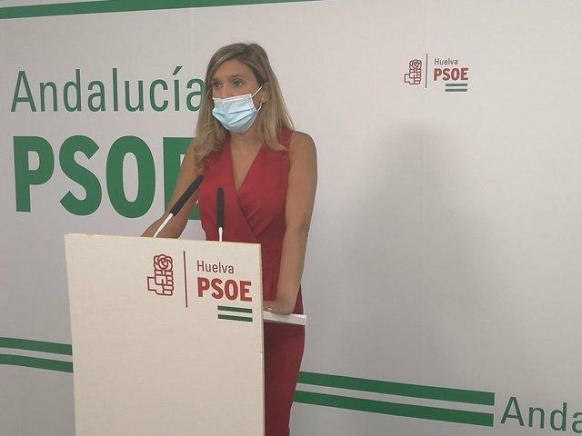 La parlamentaria socialista por Huelva María Márquez.