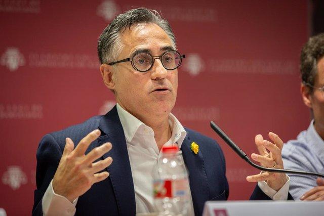 Ramon Tremosa (JxCat) participa en un debat sobre la transició ecològica a Barcelona.   ;David Zorrakino