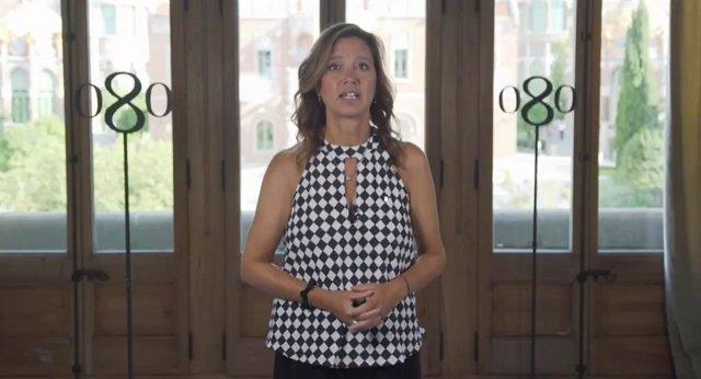 La directora del Consorci de Comerç, Artesania i Moda de la Generalitat, Muntsa Vilalta