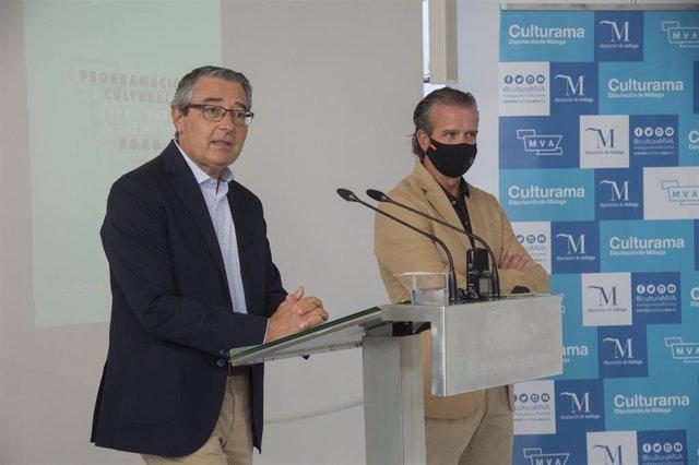 Francisco Salado y Víctor González