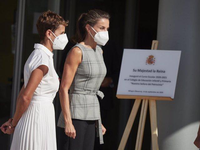 El Parlamento de Navarra rechaza una declaración contra la presencia de la Reina