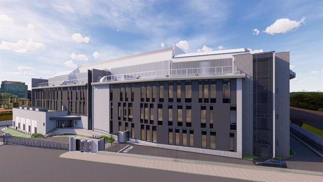 Centro de datos de Interxion en Madrid, que tendrá 35.000 metros cuadrados.