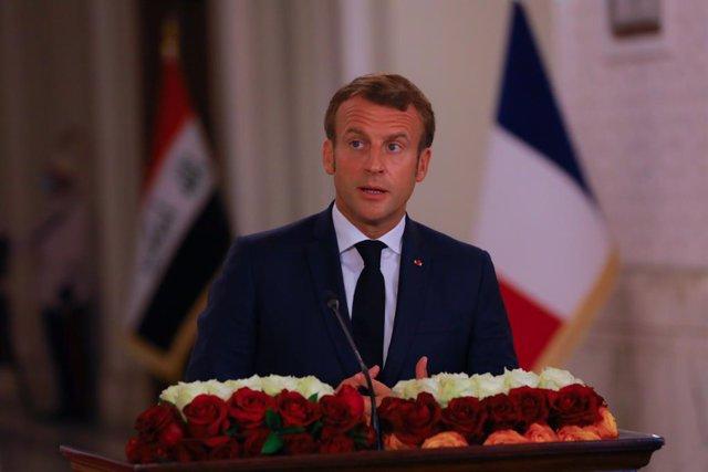 "Rusia.- Macron pide ante Putin que se aclare el ""intento de asesinato"" contra Na"