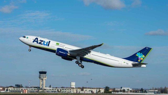 Avión de Azul Linhas Aéreas