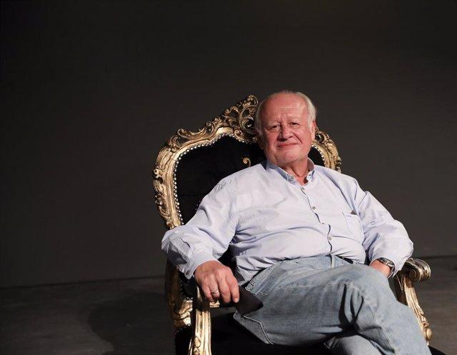Retrato de Juan Echanove en el Teatro Infanta Isabel de Madrid