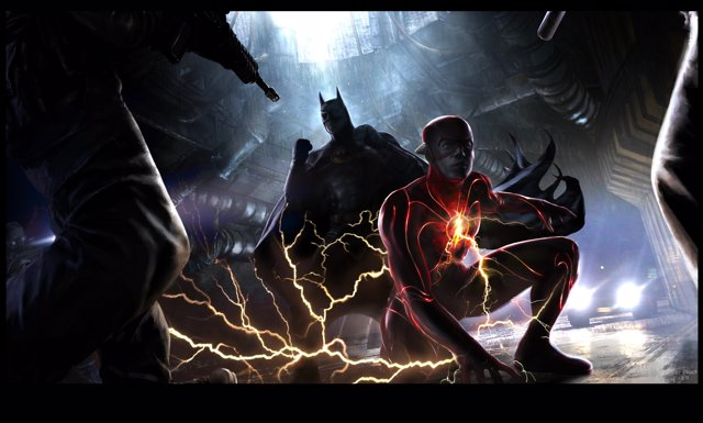 Imagen promocional de The Flash lanzada en la DC Fandome