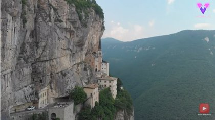 Así son las impresionantes vistas del Santuario de la Madonna della Corona en Verona