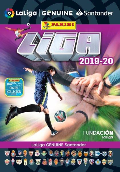 Panini presenta la primera edición física del álbum de cromos de LaLiga Genuine Santander