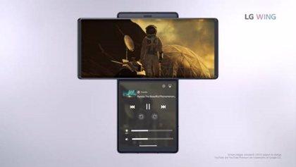 Portaltic.-LG Wing, el smartphone con doble pantalla giratoria y un joystick para controlar el ángulo de la cámara
