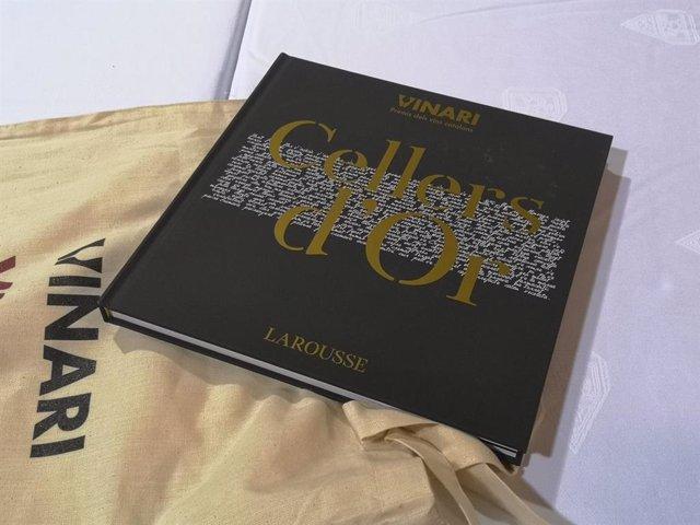 Llibre 'Cellers d'Or' dels Premis Vinari organitzats per Vadevi.cat (Larousse Editorial)