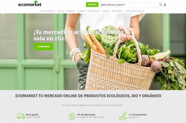 Tienda online de EcoMarket shop