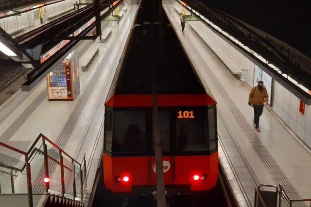El Metro de Barcelona (ARCHIVO)