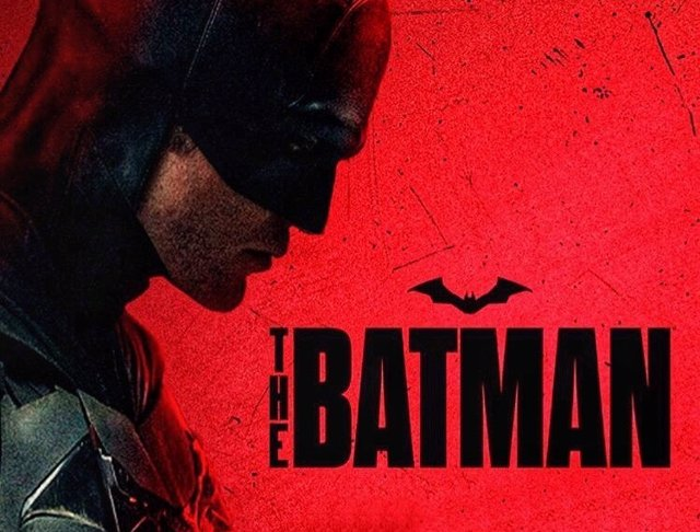 Cartel promocional de The Batman