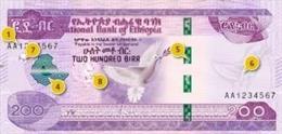 """Etiopía.- Etiopía desvela la nueva serie de billetes de su moneda local para """"re"""