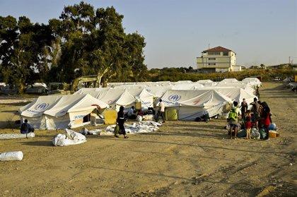 """AMP.- Grecia.- Grecia acusa a los migrantes de incendiar Moria para """"chantajear"""" al Gobierno y forzar su traslado"""