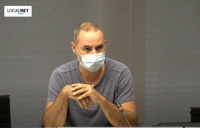 El vicepresidente de Ecología del Área Metropolitana de Barcelona (AMB), Eloi Badia.