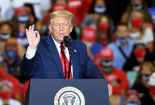 EEUU.- Trump pone en cuestión a la ciencia que denuncia el cambio climático