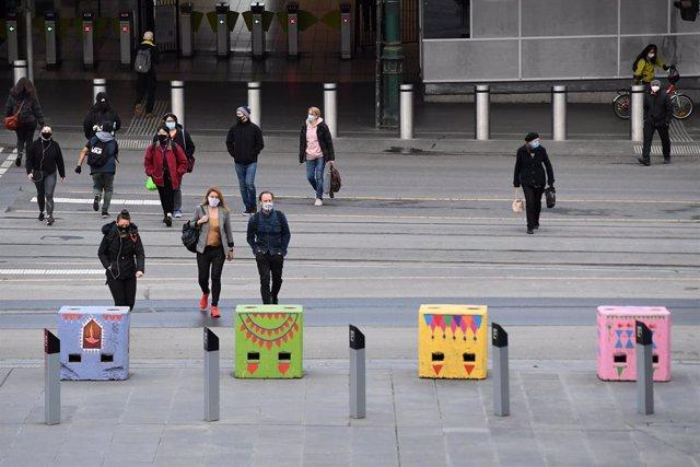 Coronavirus.- El estado australiano de Victoria no registra ninguna muerte por C