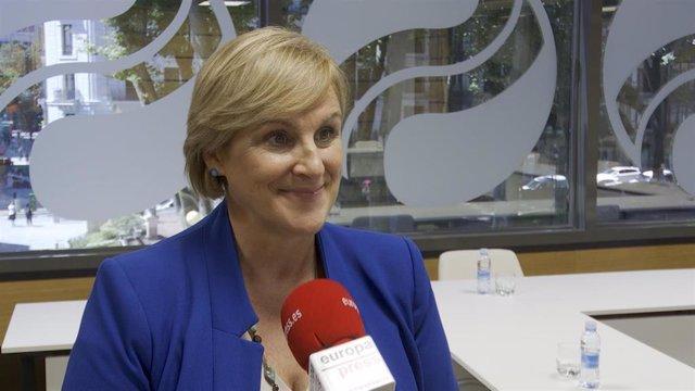 La presidenta del PNV en Bizkaia, Itxaso Atutxa.
