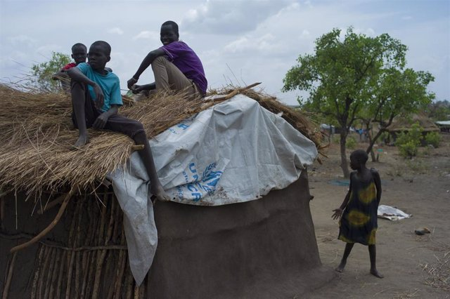 Refugiados de Sudán del Sur en Uganda