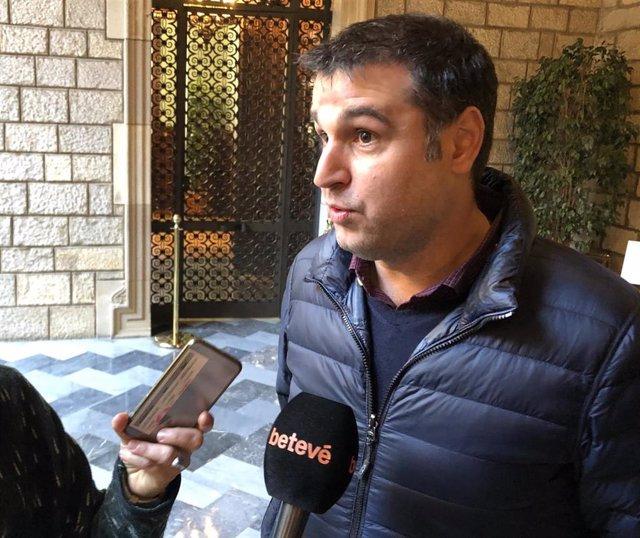 El director del Gremi de Restauració de Barcelona, Roger Pallarols, en una imagen de archivo