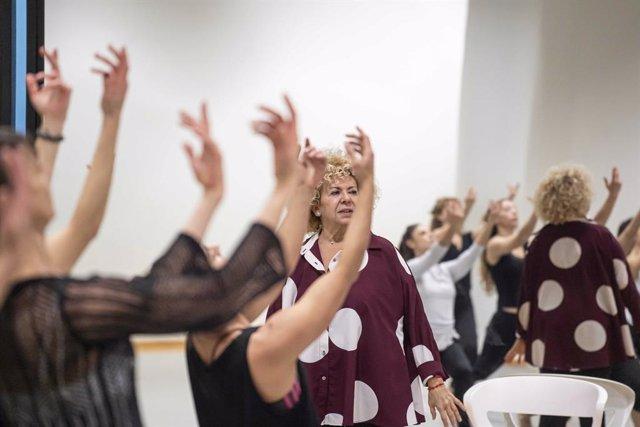 Ananda Dansa en la preparación del espectáculo 'Âtman, el comiat' (archivo)