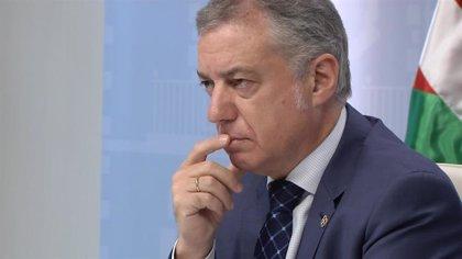 """Rey Felipe.- Urkullu planteará al rey una """"reflexión"""" sobre el desarrollo """"incompleto"""" del Estatuto de Gernika"""