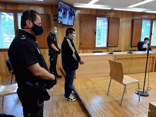Juicio contra el acusado de agredir sexualmente a la hija menor de su pareja en Monforte de Lemos (Lugo).