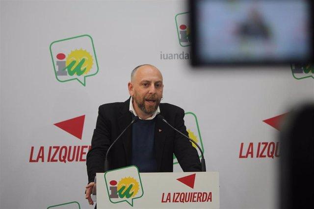 Ernesto Alba en rueda de prensa en Málaga