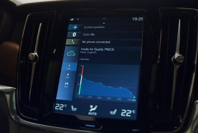 Sistema para mejorar la calidad del aire de Volvo.