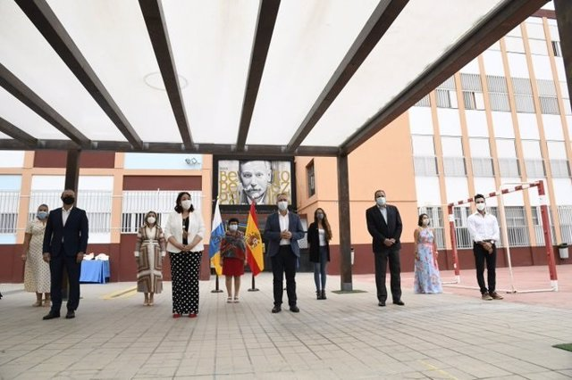Acto de inauguración de curso escolar en Canarias