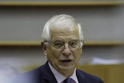 """Rusia.- Borrell no ve como una """"prioridad"""" de la UE el Nordstream, ante la presión de eurodiputados para que se cancele"""