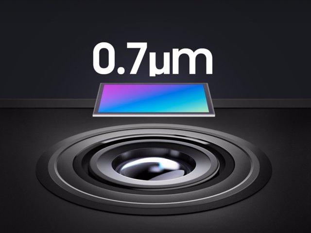 Nuevos sensores de cámara de Samsung