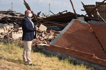 Monago pide a la Junta un plan especial para La Vera tras sufrir inundaciones, tormentas e incendios recientemente